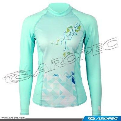 台灣潛水--- AROPEC  長袖萊克防曬衣 (女款)