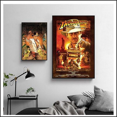 日本製畫布 電影海報 法櫃奇兵 Lost Ark 掛畫 無框畫 @Movie PoP 賣場多款海報#