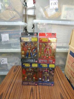 BANDAI 鐵甲萬能俠 全4款 共4盒 珍藏品