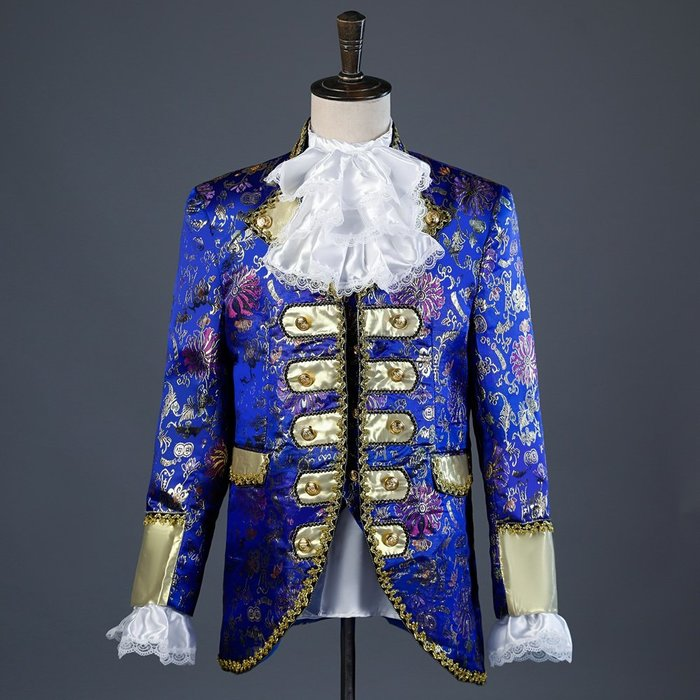 高雄艾蜜莉戲劇服裝表演服*童話系列*國王王子服裝/歐式宮廷服*購買價$2300元/出租價600元