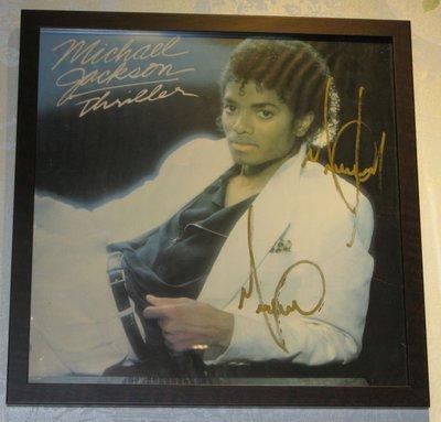 Michael Jackson Autograph  極稀有Michael Jackson 親筆簽名