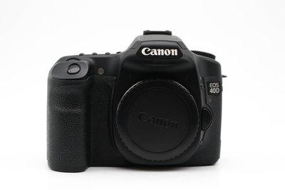【台南橙市3C】Canon EOS 40D Body 單機身 APS-C 公司貨 快門數:20351 #33333