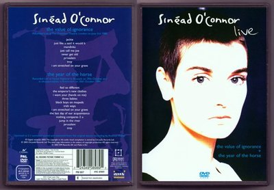 音樂居士#Sinead O'Connor - Live The Value of Ignorance () DVD