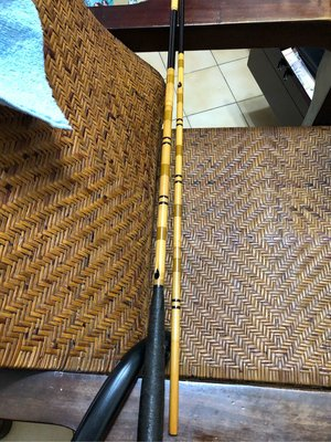 日本名師手工竹製並繼和竿