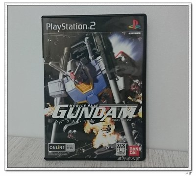 [瘋狂二手] PlayStation2 PS2 機動戰士鋼彈 宇宙相逢篇 機動戰士ガンダム 中古 日版 含特典DVD