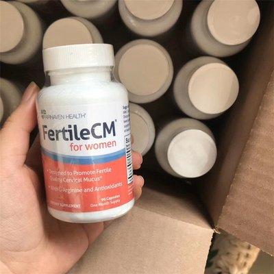 【靈靈美澳代購】美國官網Fertile CM子宮康流產子宮損傷修復內膜促進胚胎著床90粒
