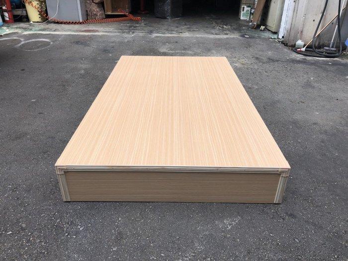 非凡二手家具 全新白橡木單人3.5尺床箱*床底*床架*寢具*雙人床*民宿*套房*二手床組