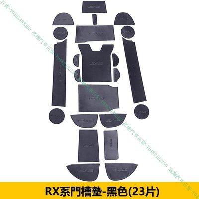 『高端汽車百貨』Lexus凌志 NX200 NX300H RX200T RX350 RX450H 皮革門槽止滑墊 防滑墊