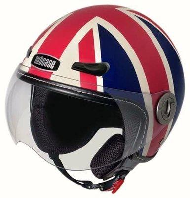 美國代購 Nutcase Union Jack 機車安全帽 M~XL 其他款式可詢問 英國國旗 復古造型