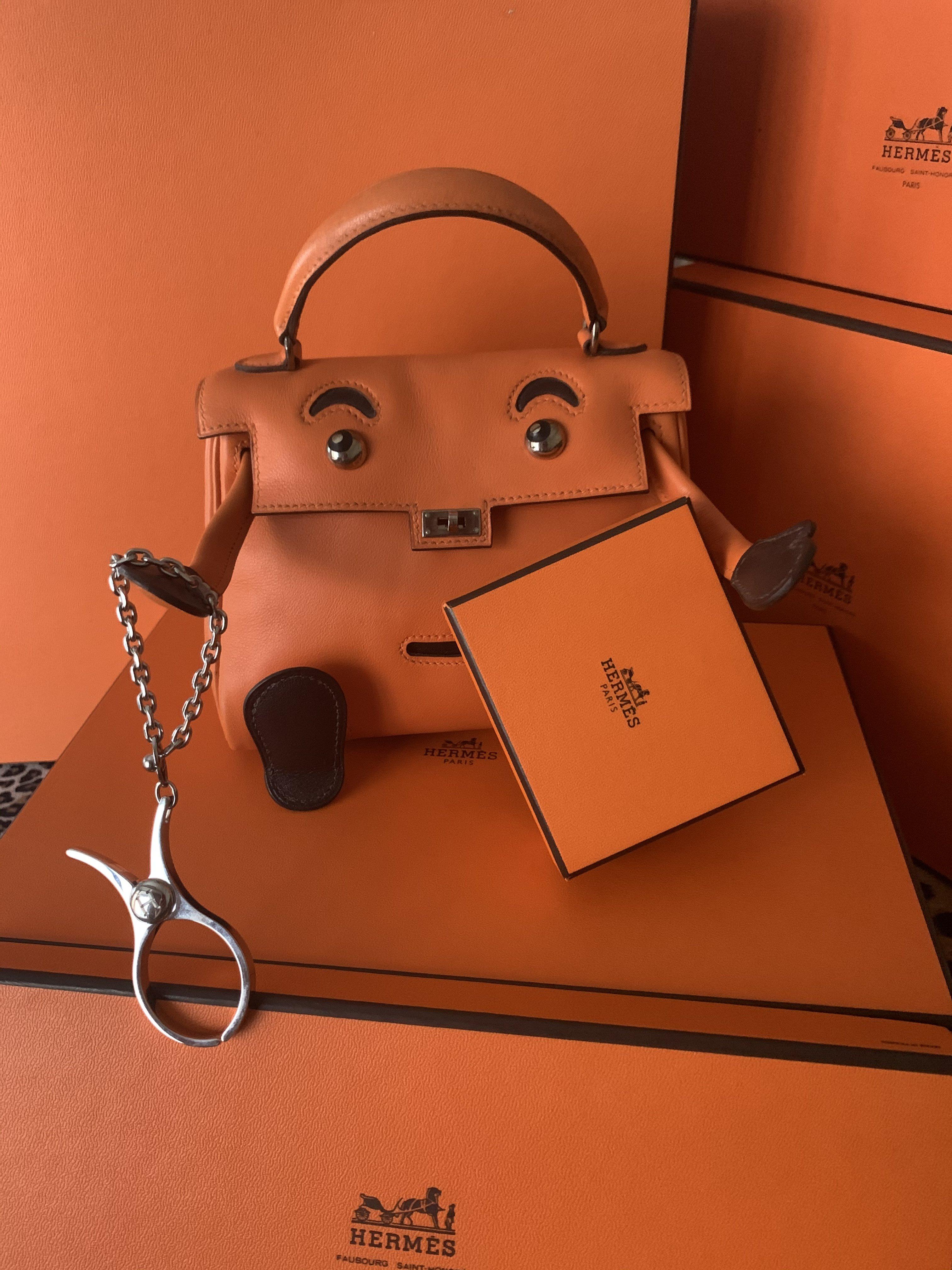 Hermes 全新吊飾掛飾手套夾鏈~特價商品