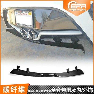 Hyundai 現代 Veloster Veloster碳纖後擾流NEFD改裝碳纖維卡夢後唇擾流板後包圍底板裝飾改裝件
