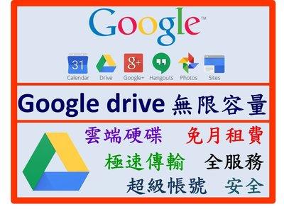 Google Drive 無限容量 雲端硬碟 儲存空間 全服務 免費安全 勝 Dropbox Seagate WD 日立