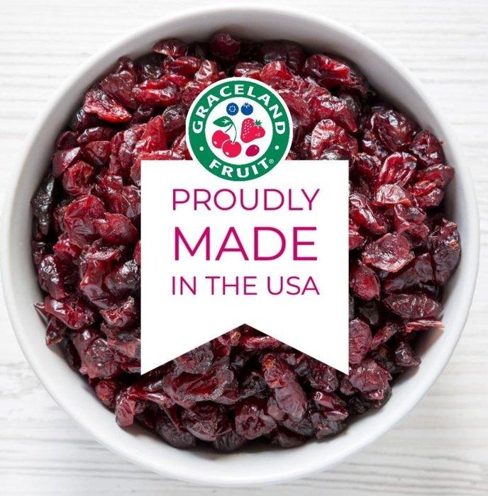 美國 Graceland 蔓越莓乾 (切半) - 500g 穀華記食品原料