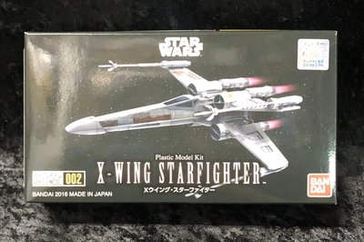 《GTS》 BANDAI VEHICLE MODEL 星際大戰 #002 X翼星際戰機 0204885