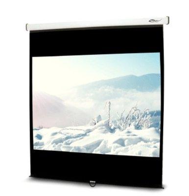 台製質感優《名展影音》 UNICO雅典娜系列CA-H90 (1:1) 90吋 手拉席白壁掛布幕