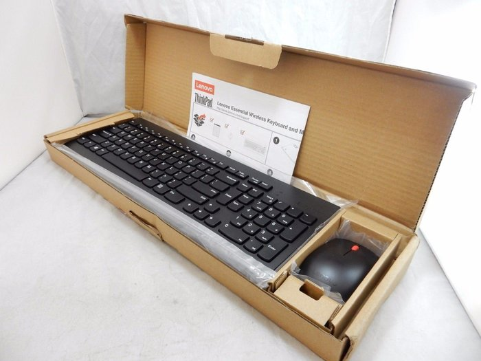Lenovo Essential Wireless Keyboard and Mouse Combo (無線鍵盤滑鼠組)