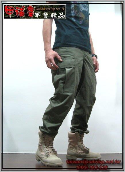 《甲補庫》__OD草綠色多口袋特戰長褲(美規版)~特勤戰技長褲 BDU