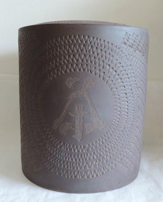 丁香之家--紫砂(中 )茶葉罐約可放10片茶