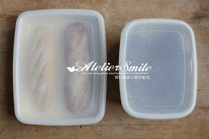 [ Atelier Smile ] 鄉村雜貨 復古作舊 厚重搪瓷儲物盒 食物保鮮盒 料理盤  白# 中淺 (現+預)