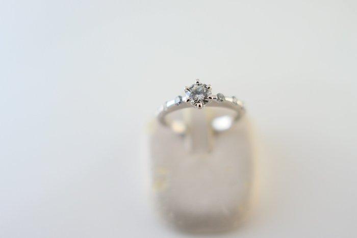 [吉宏精品交流中心]30分 天然鑽石 白K金 造型 戒指 鑽戒(公關送禮)