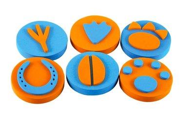 【晴晴百寶盒】英國進口連續印印章 動物腳印 可愛創意認知訓練玩具 益智遊戲 送禮禮物禮品 創意寶寶早教益智遊戲 W003