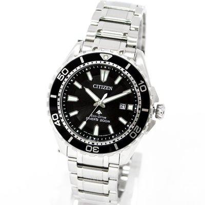 CITIZEN BN0190-82E 星辰錶 手錶 45mm 光動能 運動潛水錶 黑面盤 男錶女錶