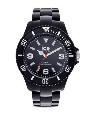 [永達利鐘錶 ] ICE watch 黑色玻璃纖維鍊帶錶 12SDBKBP12 原廠公司保固24個月 42mm
