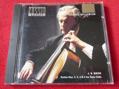 巴哈:第2-5號無伴奏大提琴組曲/謝芬蘭/Revelation/英國版