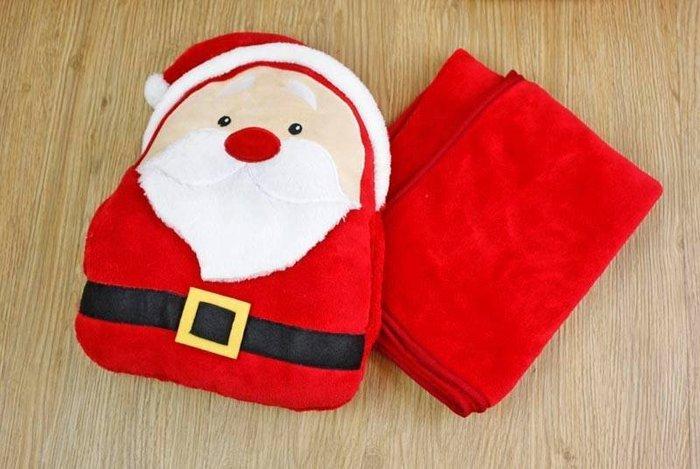 暖手枕 + 懶人毯 (聖誕節 情人節禮物 交換禮物)