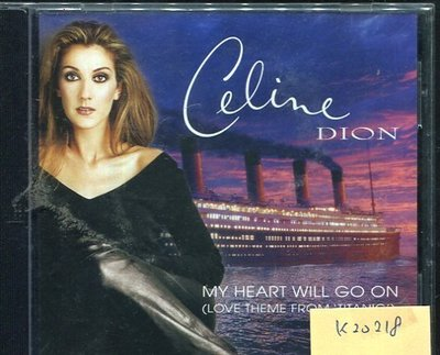 *真音樂* CELINE DION / MY HEART WILL GO ON 二手 K20218