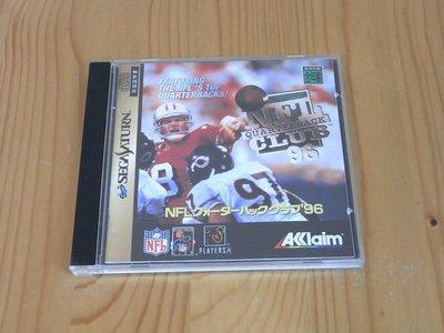 【小蕙生活館】SS~ NFL QUARTERBACK CLUB'96 美式足球賽 (純日版) 有側標