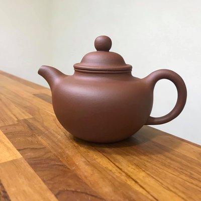 鶯歌陶瓷老街37號弘祥茗壺精品紫砂 宜興製♦️紅泥 掇只壺  容量:約280cc