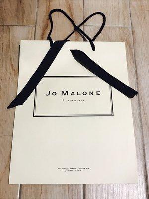 Jo Malone 香水 紙袋 附黑色緞帶 16*26*32(深*長*高)cm 倫敦買回