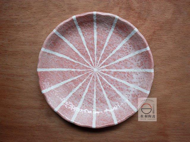 +佐和陶瓷餐具批發+【XL070917-5橘吉西瓜十草10皿-日本製】日本製 盤 圓皿 造型盤 營業餐具 餐盤 午餐盤