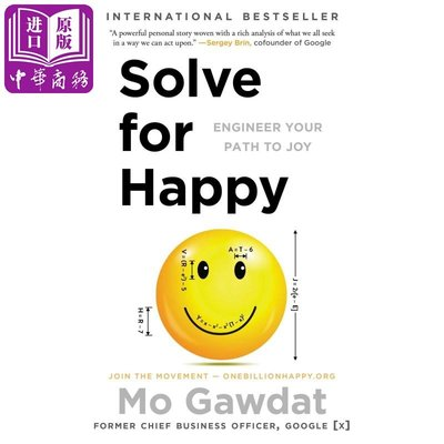 Solve for Happy: Engineer Your Path to Joy 英文原版 快樂方程式 自我提升 成