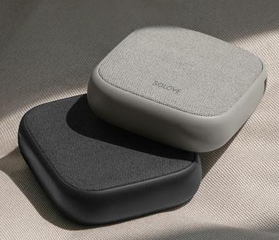 素樂無線充移動電源二合壹10000毫安蘋果XS MAX充電寶