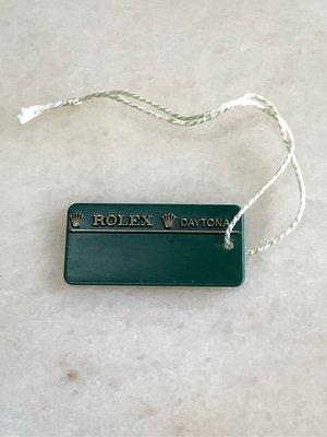 勞力士 Rolex 價格標 綠牌 綠吊牌 皇冠綠標 條碼標籤牌 Daytona 116520