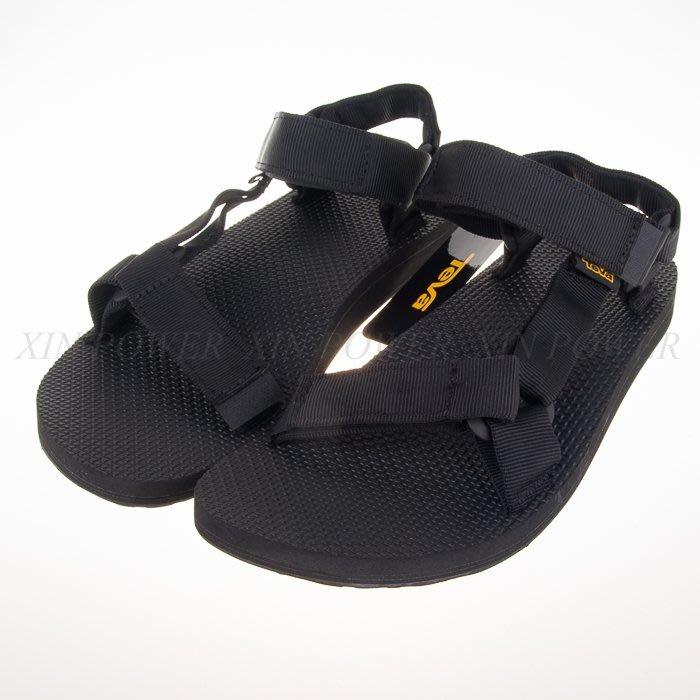 TEVA~ORIGINAL UNIVERSAL 復古  男 休閒 運動涼鞋-黑  (1004010BLK)