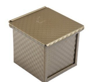 沅君M.M烘焙魔法師~水立方吐司盒-方型吐司盒-波紋吐司盒-帶蓋吐司盒-麵包盒-蛋糕模