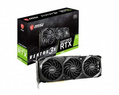 [米特3C數位] MSI 微星 GeForce RTX3090 VENTUS 3X 24G OC 顯示卡