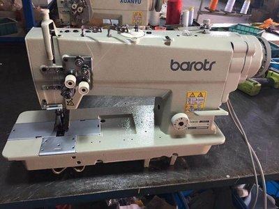 龍妹家 縫紉機廠家直銷842845雙針平縫機電腦直驅雙旋梭雙針車工業縫紉機可家用