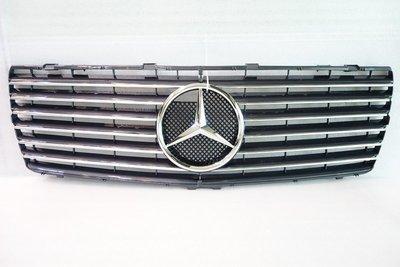 賓士 S-class W140 1992~1999 改裝水箱護罩 水柵 中網 黑 不含星