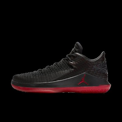 NIKE AIR JORDAN XXXII LOW PF 黑紅 編織 籃球鞋 男鞋 AJ32 AH3347-003