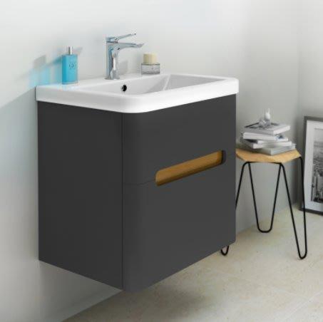 《E&J網》美國 HUNTINGTON 星動浴櫃 (深灰色) H11100WG3 防水浴櫃盆組 詢問另有優惠
