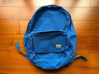 加拿大 Herschel Supply Co 尼龍 Daypack 紅色 佩斯利 變形蟲 花紋 內裏 藍色 後背包