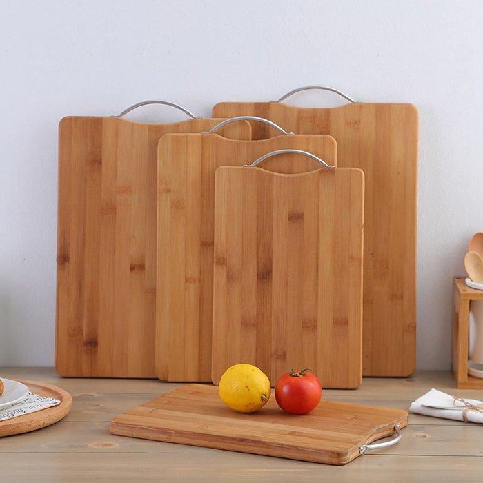 奇奇店-菜板竹子砧板切菜板長方形加厚整竹案板大號搟面板家用廚房面包板 #加厚 #防燙 #小清新