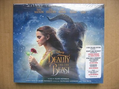 Beauty And The Beast (Disney) CD (2碟) (Deluxe Edition) (全新未開封) (Celine Dion)