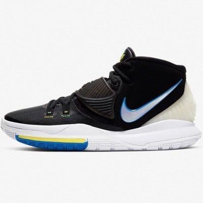 限時特價 南◇2020 8月 NIKE KYRIE 6 EP BQ4631-004 KI 黑白藍色 杜克 籃球鞋