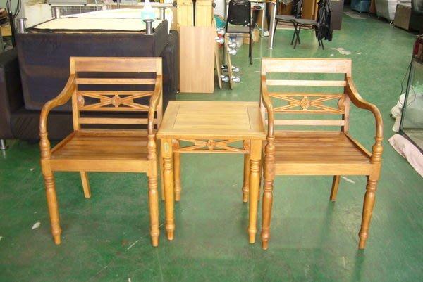 宏品二手傢俱 台中原木家具賣場 P710原木 柚木公婆椅 全實木洽談桌椅 庭院休閒桌椅 泡茶桌椅 餐桌椅 書桌椅