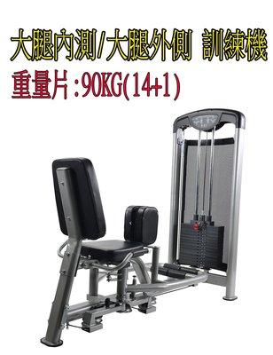 OUTER/INNER THIGH 夾腿訓練器 大腿外/大腿內側 訓練 商用器材 健身房 轟菌 世界 健身工廠